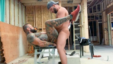 Photo of Pupcheer & Tank Joey – Fuck Raw All Over A Construction Site – Bareback