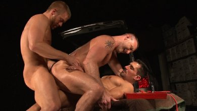 Photo of In Deep – David Anthony With Christopher Daniels And Tibor Wolfe