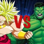 The Incredible Hulk vs. Broly