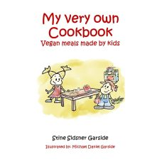 "Image showing the cover of the free eBook ""My Very Own Cookbook - Vegan meals made by kids"""