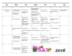 5.2016 Events