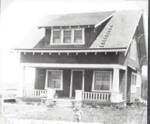 A. St. House Davis Calif. circ. 1915