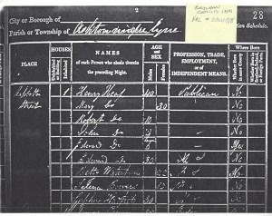 1841 UK census Parish - Ashton Under-lyne Staleybridge