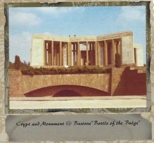 "Bastone ""Battle of the Bulge"" monument  1969"