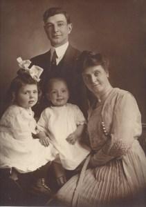 J.E. Dougherty, Dorothy Ada, Robert Edwin, and Ada (Heap) Dougherty