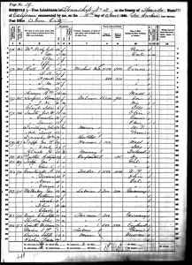 1860 US Census Amador County, California
