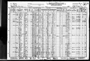 1930 US Census Luray, Russell county, Kansas