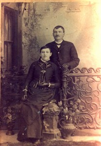 Carrie Batson and Gilmore C. Francis 30 March 1888
