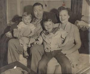 Dave, Roy Sr., Roy 111, Ina Kornmeyer