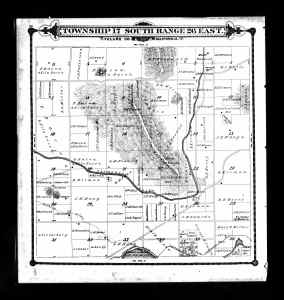 Tulare County Land Map