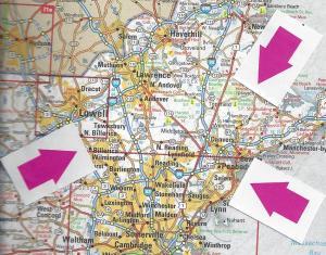 Partial Map of Massuchusetts