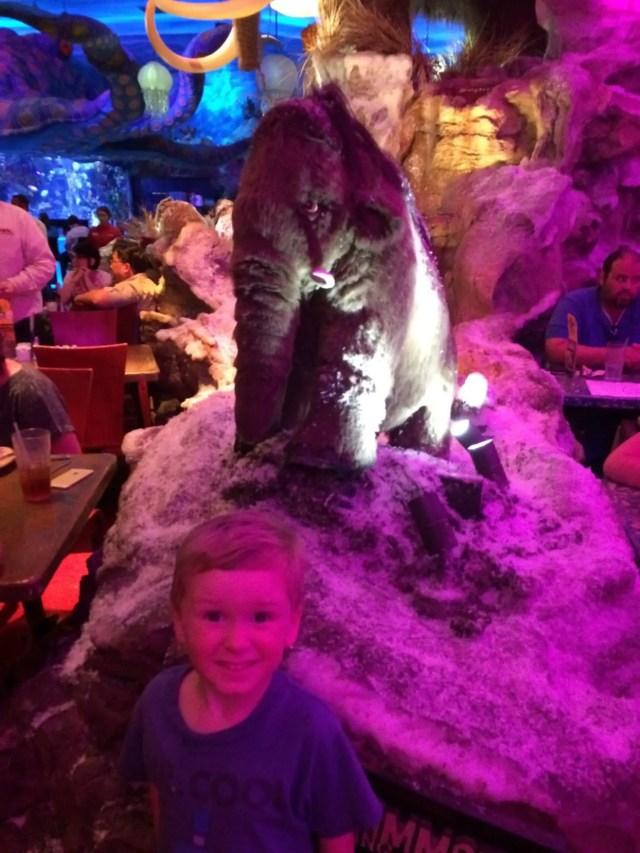 T-Rex Cafe Mammoth