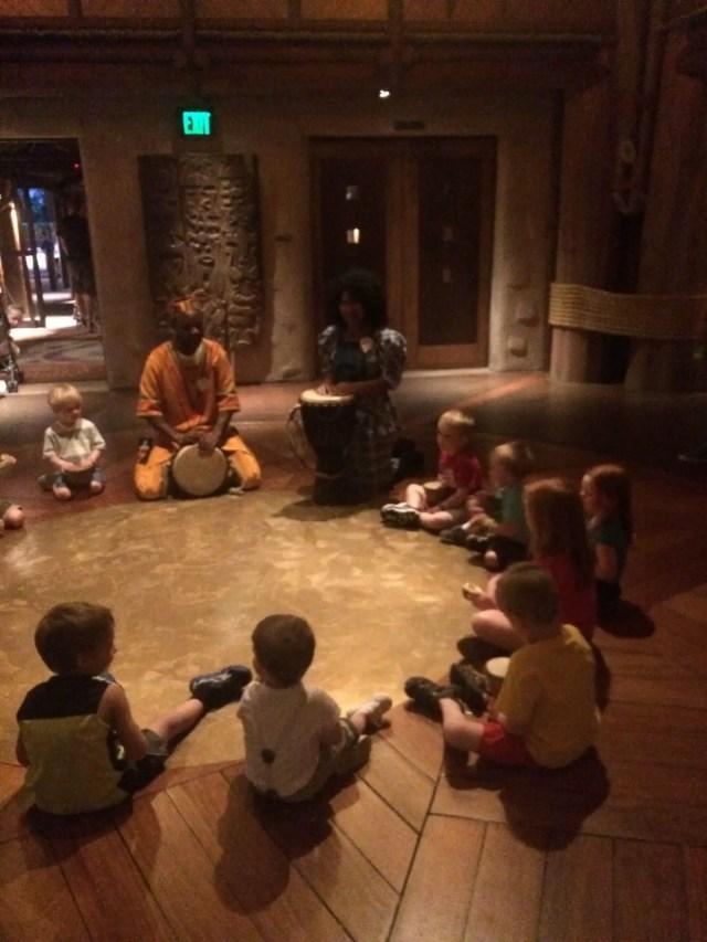 Disney's Animal Kingdom Lodge Drums
