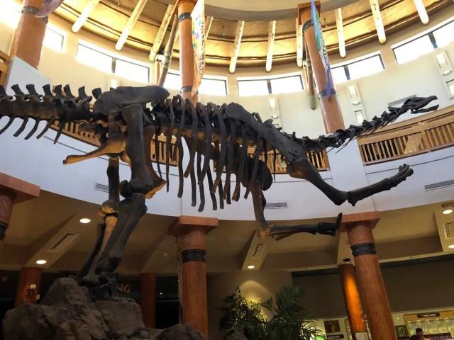 Jurassic Park Discovery Center Brontosaurus