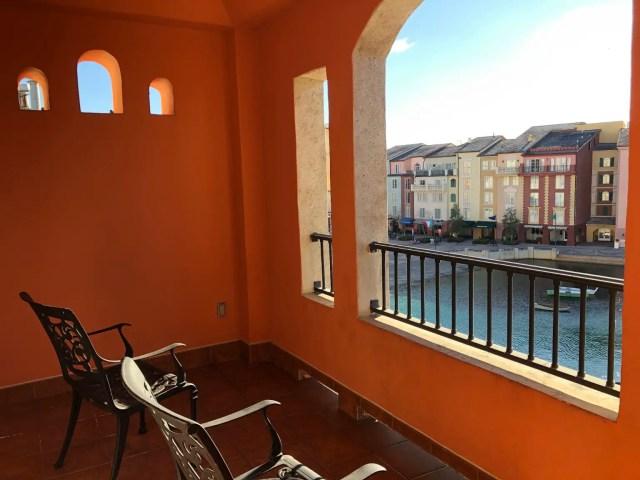Loews Portofino Bay Hotel Balcony
