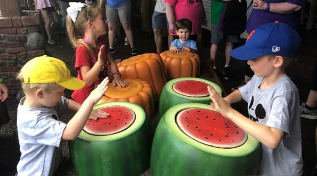 Magic Kingdom Attractions Winnie the Pooh Watermelons