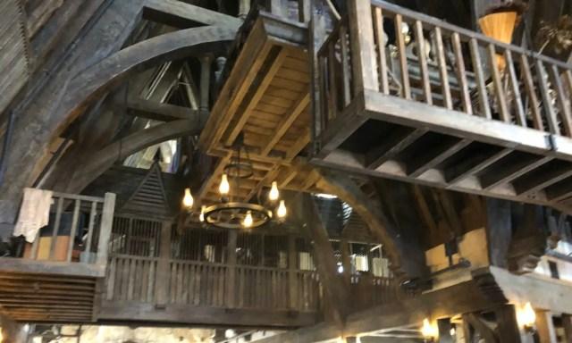 Three Broomsticks Balcony