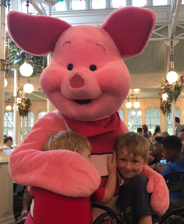 Tips for Traveling with Kids Piglet