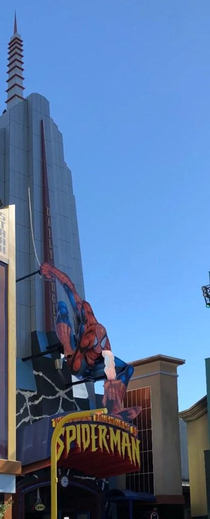 Universal Islands of Adventure Attractions Spider-Man