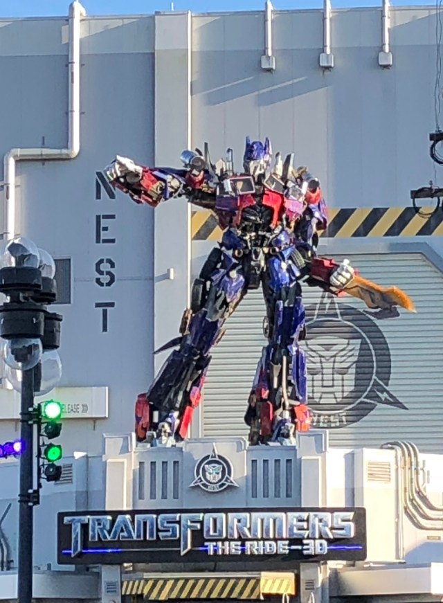 Universal Studios Florida Attractions Transformers