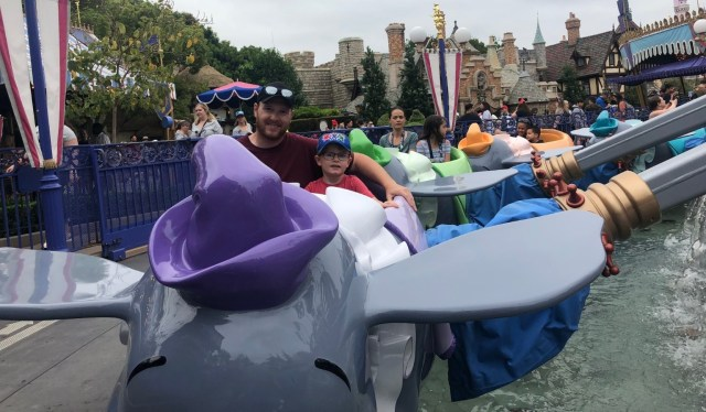 Disneyland Attractions with Toddlers Dumbo
