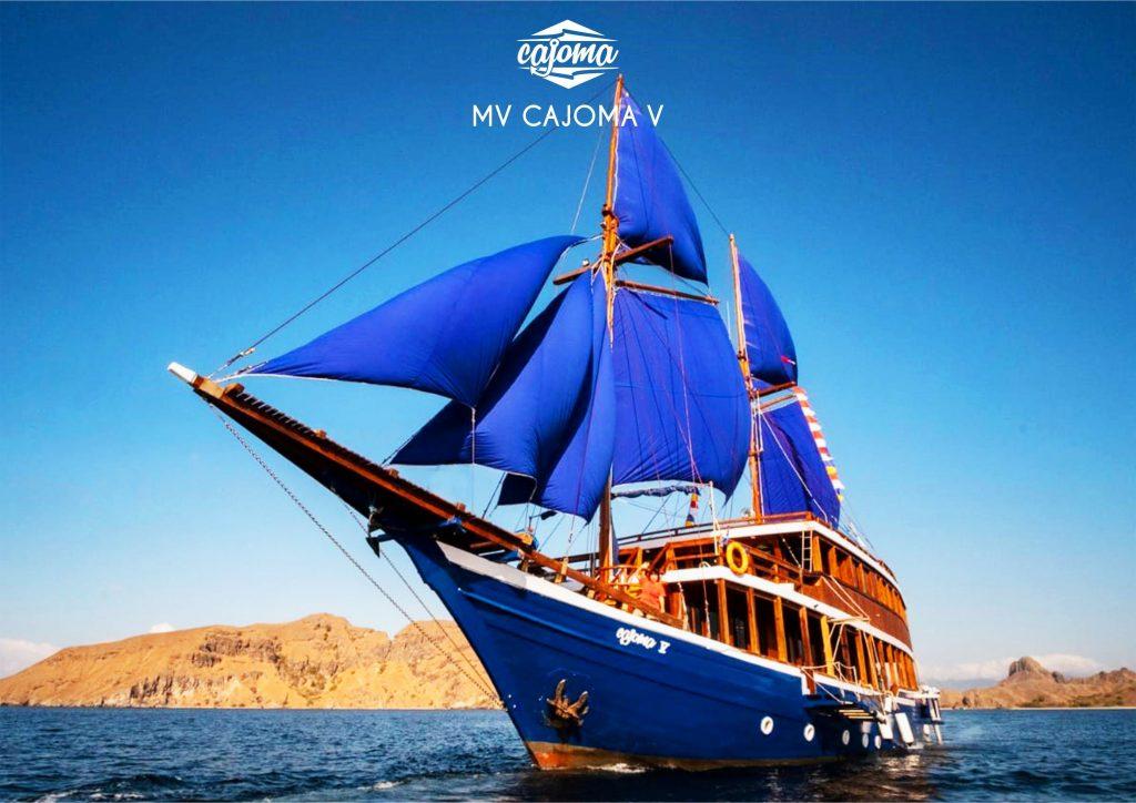Harga Sewa Kapal Charter Boat Labuan Bajo - Komodo Cajoma V