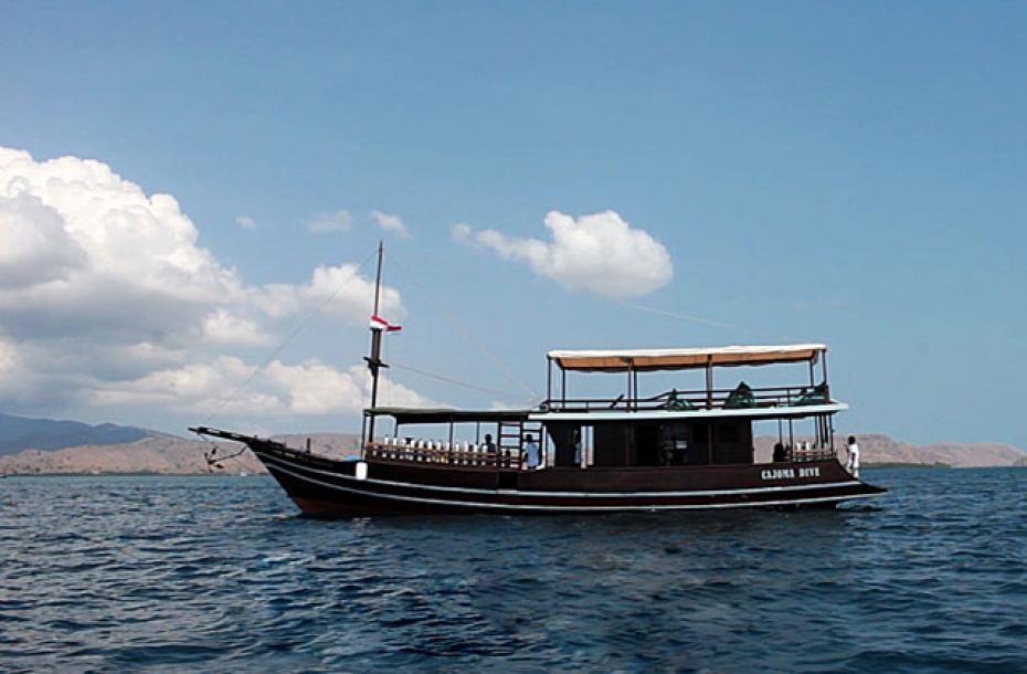 MV Cajoma Dive Putra Wijaya Tours