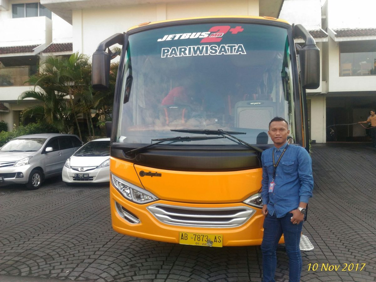 Sewa Bus Medium Pariwisata Jogja Magelang Purwokerto Purbalingga Banyumas