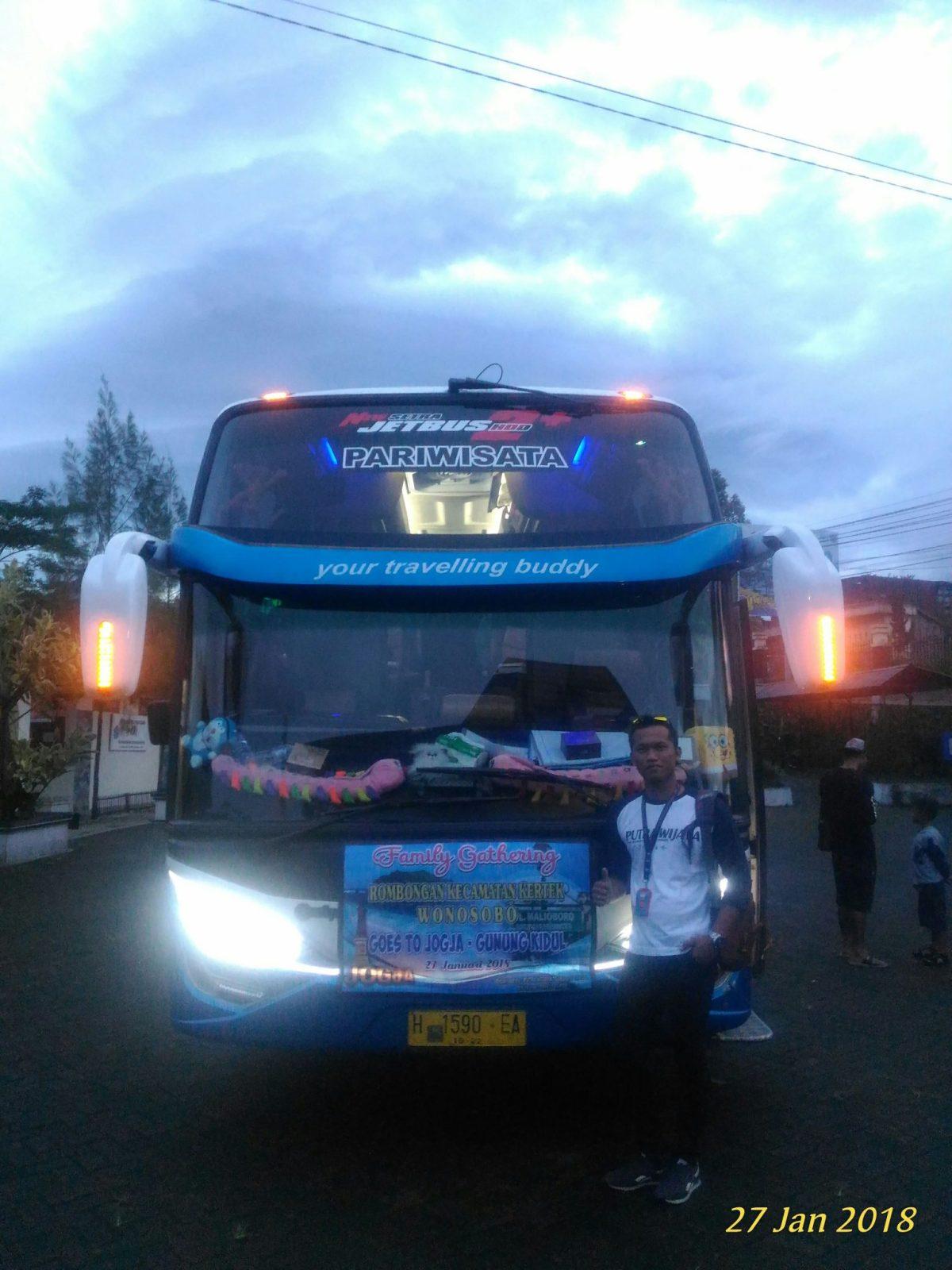 Sewa Bus Pariwisata TRANS JAYA di area Wonosobo - Temanggung - Magelang - Jogja - Klaten - Solo - Purworejo - Kebumen - Banjarnegara - Purbalingga - Purwokerto - Banyumas - Jatilawang - Ajibarang - Lumbir - Wangon - Cilacap