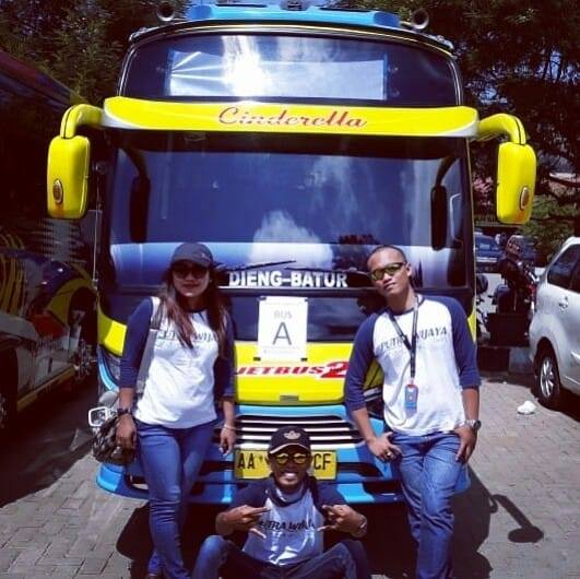Tarif Biaya Harga Sewa Shuttle Bus Wisata Wonosobo Dieng