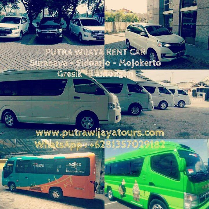 Harga Rental Transportation Car with Driver Sewa Mobil Murah Avanza, Innova Reborn, Hiace, Elf Long Surabaya Sidoarjo Gresik Lamongan Tuban Mojokerto Madura