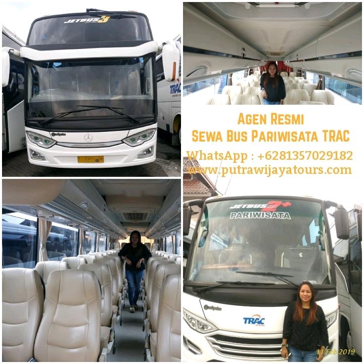 Sewa Bus Pariwisata Trac Surabaya Sidoarjo Gresik