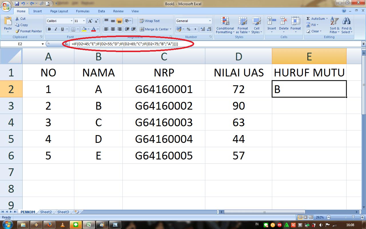 Microsoft Excel Putri Ardi