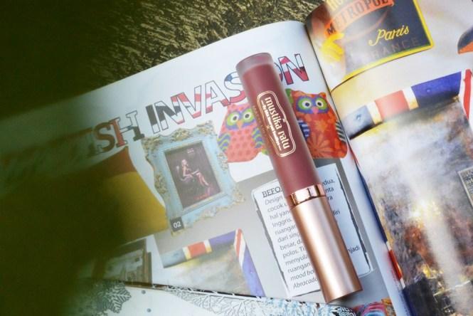 Mustika Ratu Matte Lip Cream Review_Precious Poppy