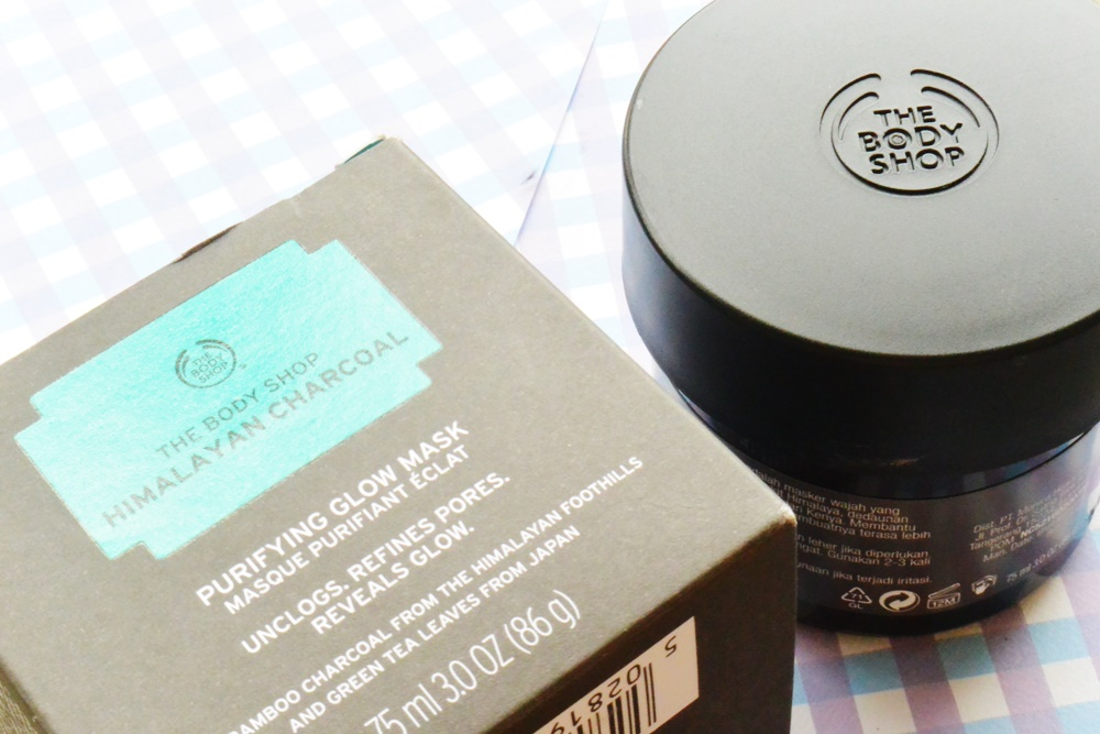 The Himalayan Charcoal Mask The Body Shop