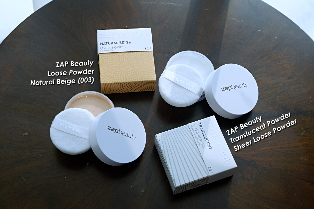 ZAP Beauty Loose Powder Review Bahasa Indonesia