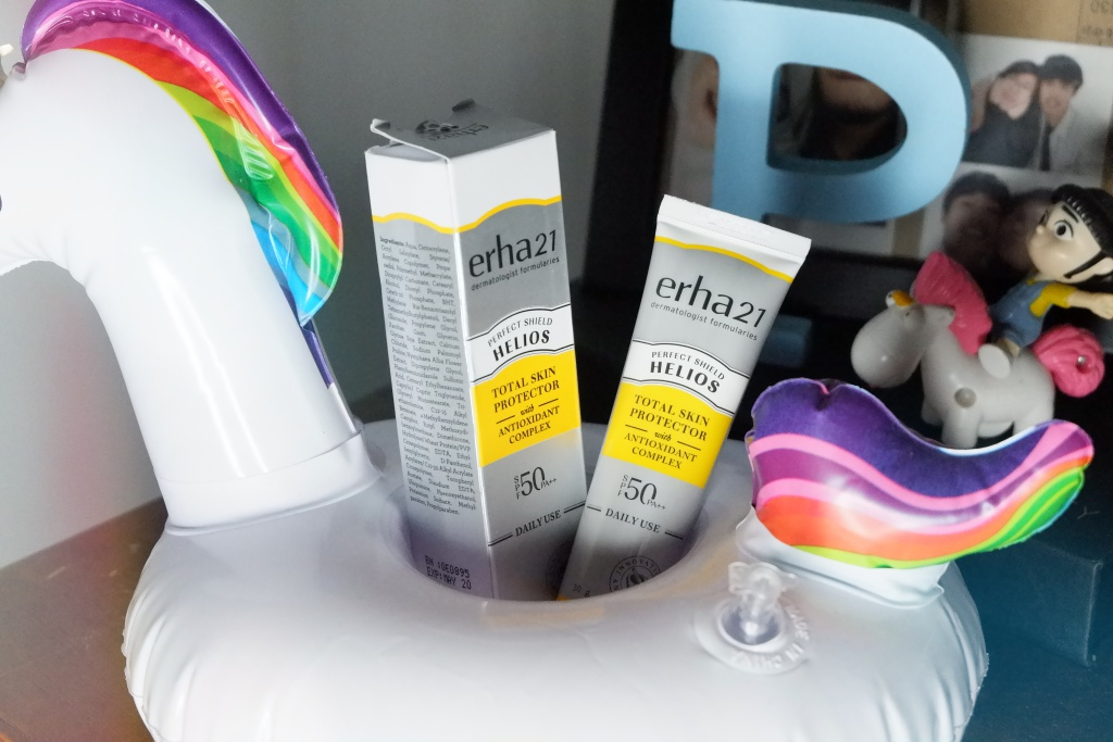 [Update & Review] Setelah Sebulan Memakai Erha Acne Care Lab + Helios Daily Use SPF50/PA++