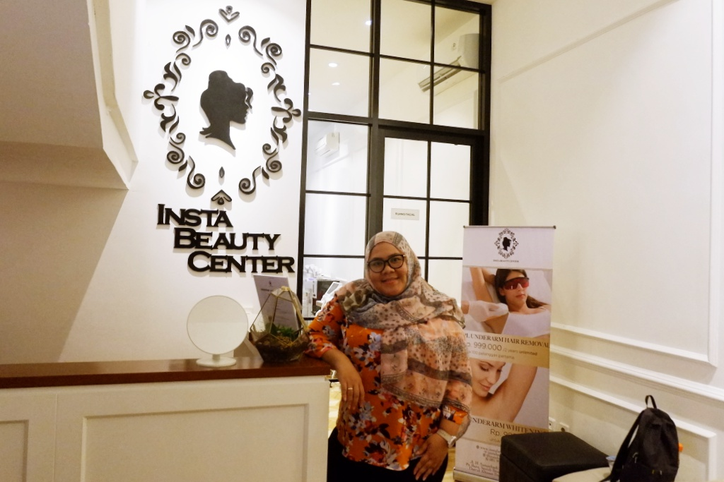 insta beauty center jakarta acne treatment series