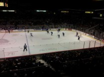 Finally watching some hockey again!