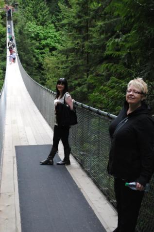 At Capilano Bridge