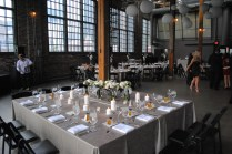 Inside the Brewery, Head Table