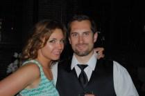 Paulina with her boyfriend Simon, one of the groomsmen