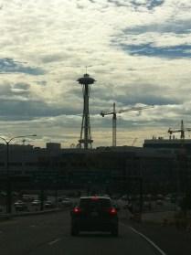 Arriving in Seattle :)