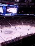 Finally a hockey game!