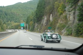 Cool car on the way
