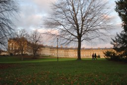 The Royal Crescent looking beautiful