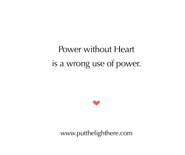 Power, right use of power, power of the heart, mystery school teachings