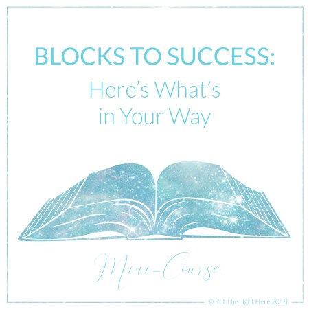 blocks to success, cord cutting, energy healing, soul healing, career change, life goals