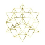 merkaba, merkaba 64, sacred geometry, gold energy, energy cleansing,
