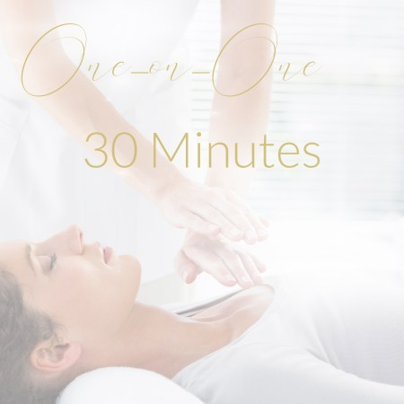 30 minute appointment, one on one, healing session, i need help, holistic healing
